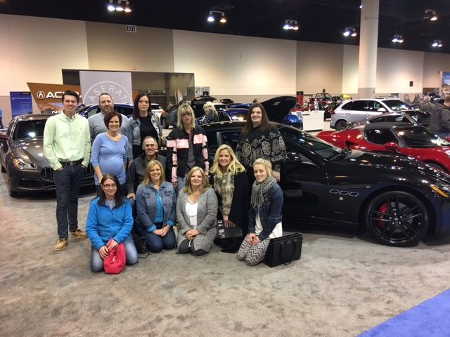Part of the Dealer Assist Now Team at the Chicago Auto Show