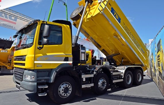 dump truck flexable