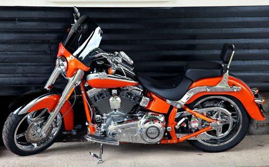 Harley Davidson Custom Motorcycle Descriptions