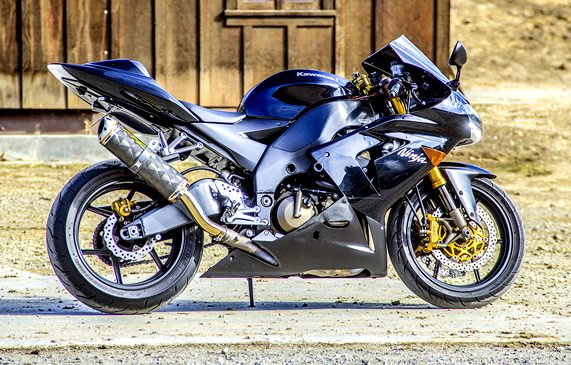 Kawasaki Motorcycle Custom Detailed Descriptions