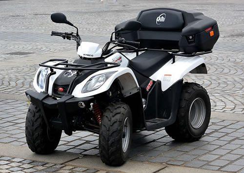 Kymco MXU 150 - Sample Description for ATVs